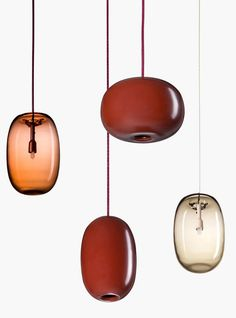 Pebble Lamp design by Joel Karlsson for Örsjö - How to enclose the light, creating a soft glow and spread it