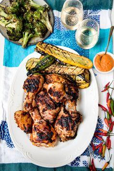 Piri Piri Chicken and Vinho Verde Wine (Honest Cooking) Piri Piri, Pozole Verde Recipe, Sauce Recipes, Chicken Recipes, Verde Wine, Peri Peri Chicken, Eggplant Dishes, Spicy Dishes, Chicken Feed