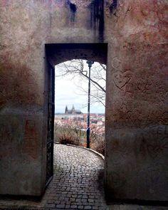 Gates through the city Old City, Czech Republic, Prague, Gates, Oversized Mirror, Victoria, Photography, Instagram, Photograph