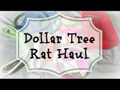 Dollar Store Rat Toys & Cage Accessories! - YouTube