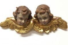 Engel Putten echt vergoldet um 1920