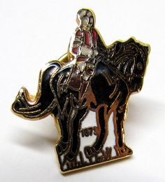 Vintage Knight Gold Tone and Enamel Pin / Lapel Pin / Scatter Pin / Hat Pin, Costume Jewelry - Accessories - Collectable Pin by VINTAGEandMOREshop on Etsy https://www.etsy.com/listing/240888812/vintage-knight-gold-tone-and-enamel-pin