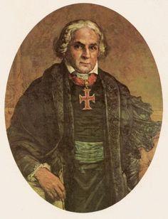 """José Bonifácio de Andrada e Silva - """" O Patriarca da Independência """"."""