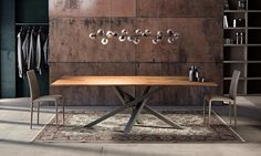 Design crystal dining table SHANGAI by RIFLESSI design RIFLESSI ...