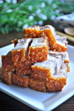 Crackling Roast Pork 脆皮烧肉