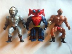 #Vintage 1980's he man motu #action #figures,  View more on the LINK: 	http://www.zeppy.io/product/gb/2/161851951285/