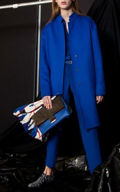 Cedric Charlier Pre-Fall 2014 Trunkshow Look 3 on Moda Operandi