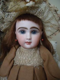 Gorgeous All Original Bebe Louvre Jumeau from dollmary on Ruby Lane