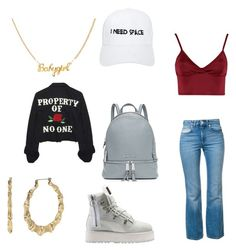 """""""Red-cup party"""" by courtneycarey on Polyvore featuring Lipsy, Sonia Rykiel, Puma, Nasaseasons, Betsey Johnson and MICHAEL Michael Kors"""