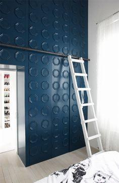 unusual closet #wardrobes #closet #armoire storage, hardware, accessories for wardrobes, dressing room, vanity, wardrobe design, sliding doors,  walk-in wardrobes.
