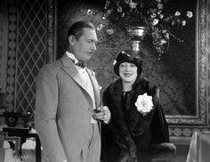 Lew Cody and Mabel Normand