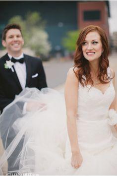 A Grand Rapids Michigan Wedding Photographed by Gina Meola Photography / via StyleUnveiled.com