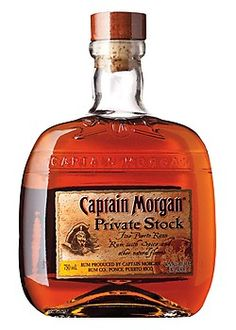 Captain Morgan Private Stock Rum. What better way to initiate a friend into the world of rum enthusiasm than with a bottle of classic Captain Morgan Private Stock Rum? | spiritedgifts.com