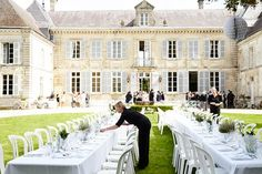A fashion designer tells us all about her wedding at a chateau in country France - Vogue Australia