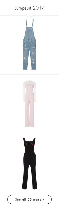 """Jumpsuit 2017"" by jckyleeah ❤ liked on Polyvore featuring jumpsuit, jumpsuits, overalls, pants, calça, loose jumpsuit, dungaree overalls, vintage bib overalls, true religion and cotton jumpsuit"