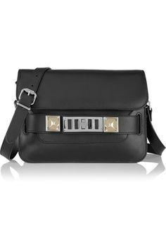 fa3742a0a5e5 Proenza Schouler - Mini Leather Shoulder Bag - Black - one size