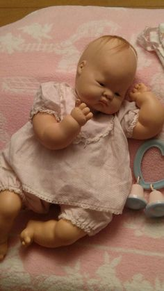 Vogue Baby Dear Doll Eloise Wilkins 1960's Cloth and Vinyl