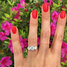 3-Stone Engagement Rings | POPSUGAR Love & Sex