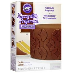 Wilton 7102302 Decorator Preferred Fondant 24Ounce Chocolate * Visit the image link more details.