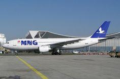 MNG Cargo A300 in FRA