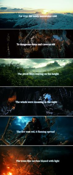 I love LOTR and the Hobbit .___.