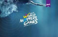"""Check out this @Behance project: """"World Masters Games Identity""""…"""