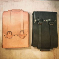 #Annoni #AnnoniBags #BuenosAires #Argentina #BackPack #BlackPack #Handmade #Leatherwork