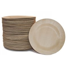 A more elegant and green alternative to the paper plate. bambu\u0027s All Occasion Veneerware® bamboo plates. Keep the dining ware casual and eco-friendly.  sc 1 st  Pinterest & Veneerware 11in Bamboo Plate Bulk 25/PK | Green weddings Rehearsal ...