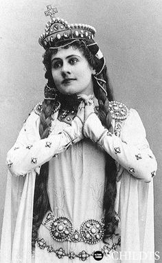 """Finnish opera singer Aino Ackte in """"Salome"""" (circa 1890s Fashion, Black Magic Woman, Theatre Costumes, History Of Photography, Opera Singers, Antique Photos, Portraits, Vintage Beauty, Classical Music"""