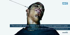 Learn some important facts and statistics about cigarettes and cigarette smoke that may surprise you. Advertising Methods, Creative Advertising, Anti Smoking Poster, Promotion, Whole Image, Social Environment, Important Facts, Anorexia, Above And Beyond
