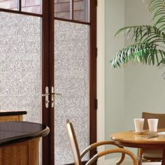 Add some privacy in your home with decorative window film from Bed Bath & Beyond. Learn how easy it is to install window privacy film. Shop lots of designs! Dc Fix, Window Privacy, Window Films, Patio Doors, Windows And Doors, Bedding Shop, Glass Door, Decoration, Window Treatments