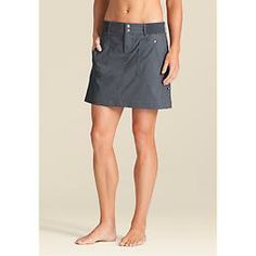 Paddington Hike Skort - The streamlined skort thats tough enough for trail-blazing in stretchy, abrasion-resistant fabric and a low-profile mesh inner short.
