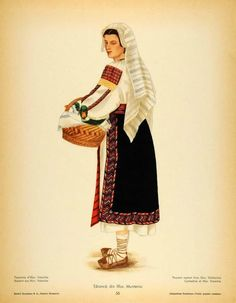 Folk Costume, Costumes, Medieval Clothing, Drawing Clothes, San Jose, Anthropology, Traditional Dresses, Romania, Embroidery Patterns