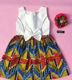 "Bayabsgh_kids is located in Sunyani, Ghana. We deliver Nationwide and Overseas. For further enquiries or to Order, call/whatsapp/viber…"" Baby African Clothes, African Dresses For Kids, African Print Dresses, African Print Fashion, African Fashion Dresses, African Attire, African Wear, Toddler Girl Dresses, Little Girl Dresses"