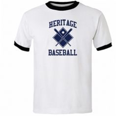Baseball tees for any school or team in the USA.  Show your spirit!  Support your team.