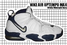 Nike Air Uptempo, Senior Year Of High School, Moda Retro, Basketball Shoes, Nike Air Max, Air Jordans, Sneakers Nike, Footwear, Navy