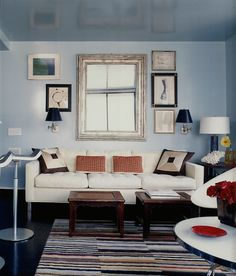 entire room is painted in high gloss paint!