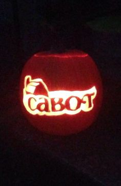 Cabot Co-op pumpkin