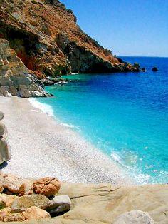 Ikaria island - Greeka.com | Greece | Greek islands Galazios, or turqoise. Ikaria