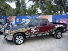 49ers chevy truck