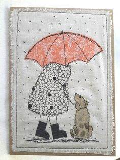 """This, that and everything inbetween: My """"free range"""" art cards Freehand Machine Embroidery, Free Motion Embroidery, Machine Embroidery Applique, Applique Patterns, Free Motion Quilting, Applique Quilts, Embroidery Art, Quilt Patterns, Applique Ideas"""