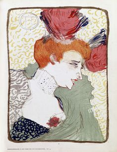 Henri de Toulouse-Lautrec 1895 Mademoiselle Marcelle Lender Poster