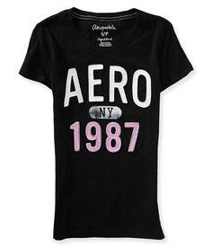 Aero 1987 Graphic T - Aeropostale