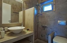 Crete, Sink, Villa, Home Decor, Sink Tops, Vessel Sink, Decoration Home, Room Decor, Vanity Basin