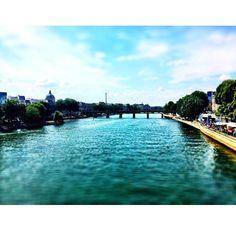 Paris looking beautiful #Paris #research #France #Seine