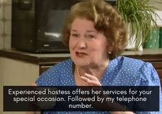 The Top 20 Hyacinth Bucket Quotes from Keeping Up Appearances - I Heart British TV Appearance Quotes, Open All Hours, Keeping Up Appearances, First Class Stamp, British Humor, Horse Face, Wine Quotes, Liking Someone, Keep Up
