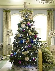 25 Coastal Christmas Holiday Trees Inspired by the Sea