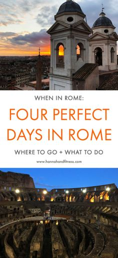 Explore Rome, the most beautiful city in the world starting from the Colosseum, the Spanish steps, the Trevi Fountain, St Peters Basilica, the Roman Forum and many more ancient attractions. Spend 4 days in Italy's Capital.