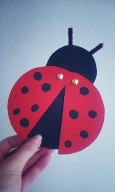 Diy And Crafts, Crafts For Kids, Arts And Crafts, Ladybug, Activities For Kids, Happy Birthday, Spring, Manualidades, Bricolage