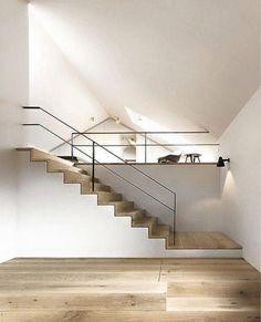 Privat Residencial Ambach - contemporary - Staircase - Other Metro - ZEITRAUM Interior Stairs, Interior Architecture, Interior And Exterior, Interior Design, Interior Decorating, Classic Architecture, Building Architecture, Contemporary Architecture, Escalier Design